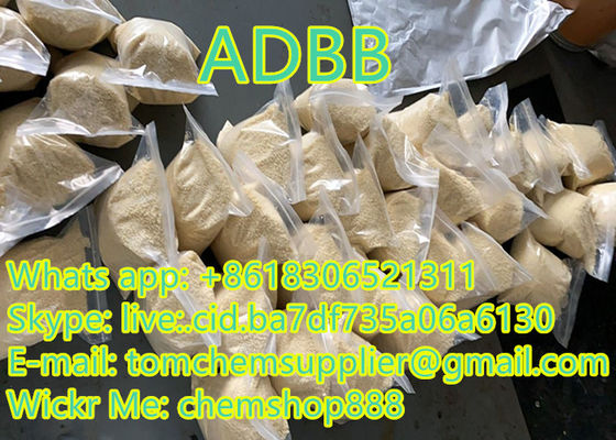 USA Hot Sale Online adbb Light Yellow Powder 99.9% Purity Pure Research Chemicals