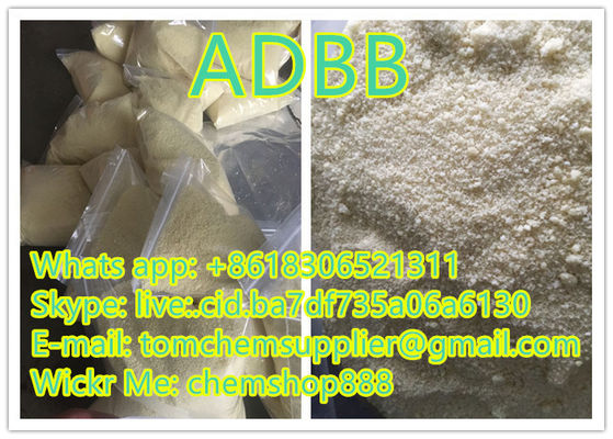 Safe And Strong Effect adbb Light Yellow Powder Pure Research Chemicals