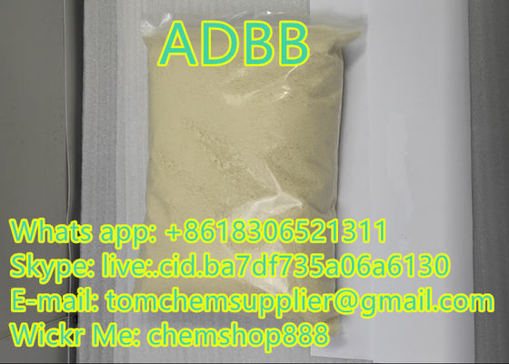 China Factory Supply Strong Pure Research Chemicals adbb Yellow Powder