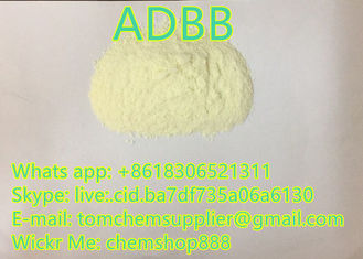 adbb China Factory Supply Strong Pure Research Chemicals Light Yellow Powder